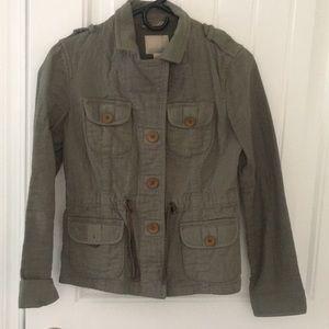 Banana republic heritage military jacket